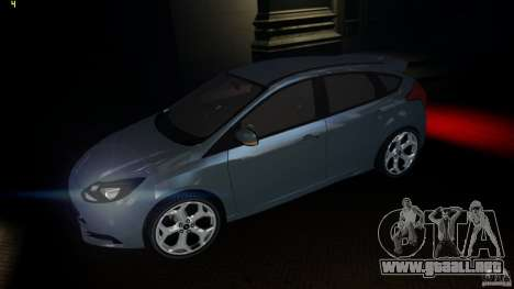 Ford Focus 3 ST para GTA 4 left