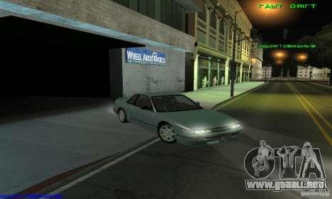Nissan Silvia S13 Tunable para GTA San Andreas vista posterior izquierda