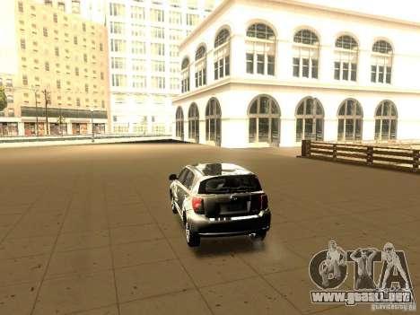 Scion xD para GTA San Andreas left