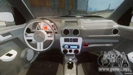 Volkswagen Gol G4 Rallye para GTA 4 visión correcta