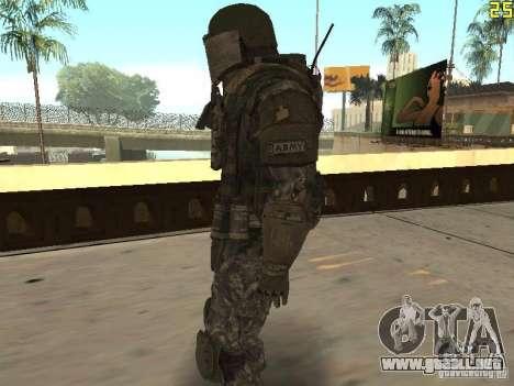 Luchar contra los soldados de CoD: Mw2 para GTA San Andreas segunda pantalla