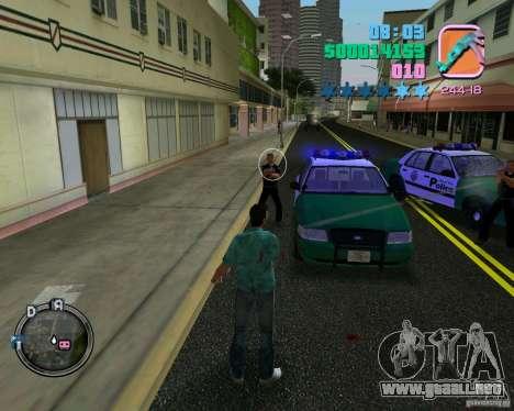 Policías de ropa nueva para GTA Vice City sexta pantalla