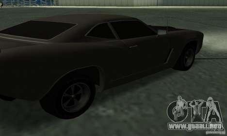 Cazador de caballería de Burnout Paradise para visión interna GTA San Andreas
