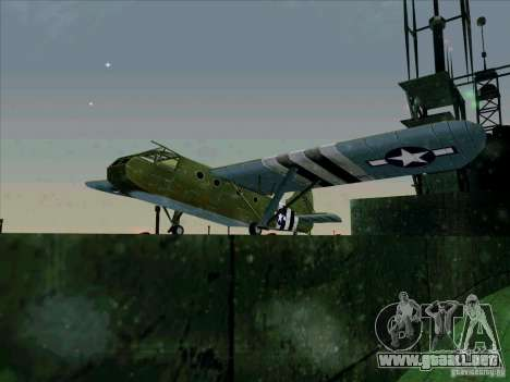 Aviones del juego tras enemigas las líneas 2 para GTA San Andreas