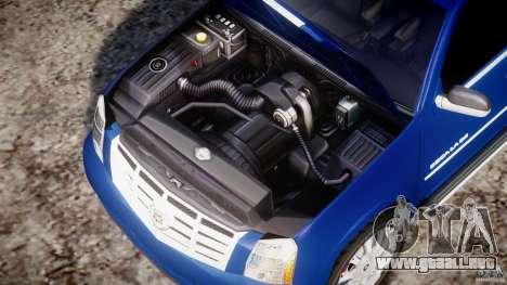 Cadillac Escalade [Beta] para GTA 4 vista hacia atrás