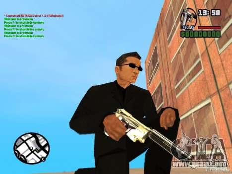 Gun Pack by MrWexler666 para GTA San Andreas octavo de pantalla