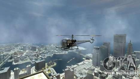 Sparrow Hilator para GTA 4 visión correcta