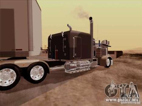 Peterbilt 359 Custom para la visión correcta GTA San Andreas