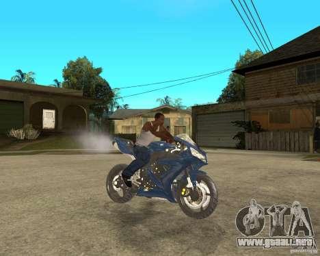 2005 Yamaha R1 para la visión correcta GTA San Andreas