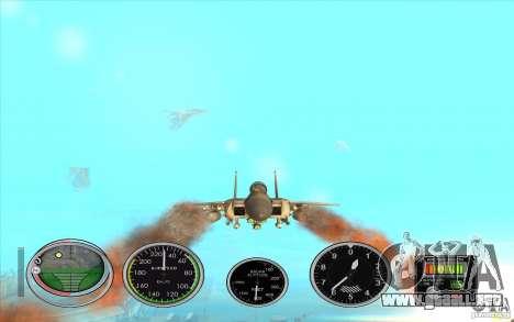 Lanzamiento del cohete rápido a Hydra y Hunter para GTA San Andreas segunda pantalla