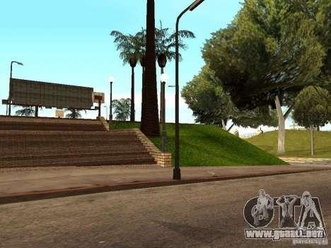 La nueva cancha de baloncesto en Los Santos para GTA San Andreas sexta pantalla