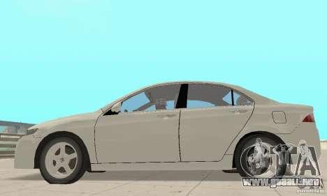 Honda Accord Comfort 2003 para la visión correcta GTA San Andreas