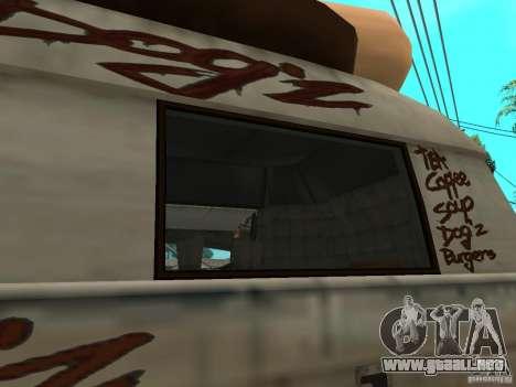 Limpiar el cristal en el Hot Dog-e para la visión correcta GTA San Andreas