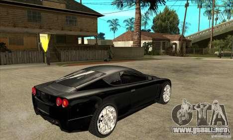 GTA IV SuperGT para la visión correcta GTA San Andreas