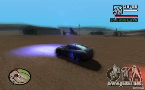ENBSeries By Gasilovo para GTA San Andreas octavo de pantalla
