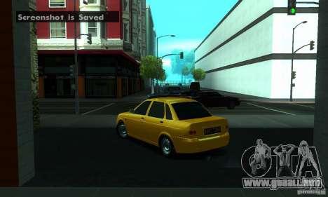 Lada Priora para las ruedas de GTA San Andreas