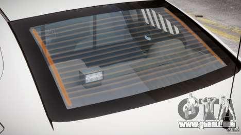 Dodge Charger FBI Police para GTA 4 ruedas