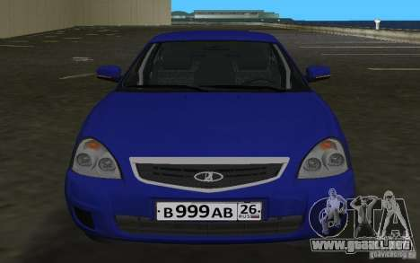 Lada 2170 Priora para GTA Vice City left