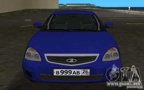 Lada 2170 Priora para GTA Vice City left