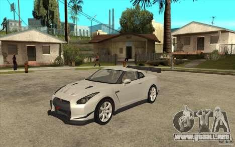 Nissan GT R Shift 2 Edition para GTA San Andreas