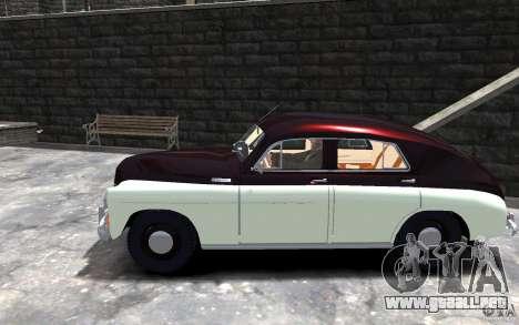 FSO Warszawa M20 201 para GTA 4 left
