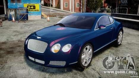 Bentley Continental GT v2.0 para GTA 4