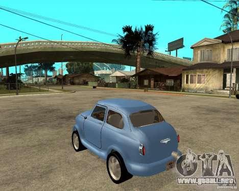 ZAZ Zaporozhets 965 HotRod para GTA San Andreas left