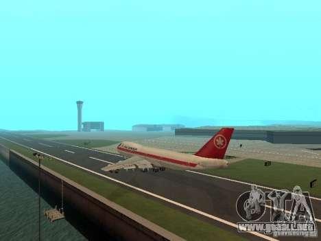Boeing 747 Air Canada para la visión correcta GTA San Andreas