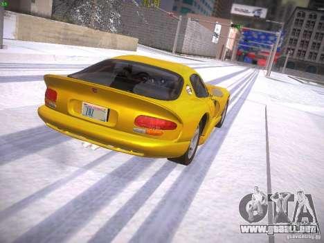 Dodge Viper 1996 para GTA San Andreas left