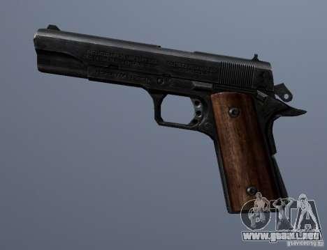 M1911 para GTA San Andreas tercera pantalla