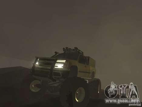 Chevrolet Colorado Monster para la visión correcta GTA San Andreas
