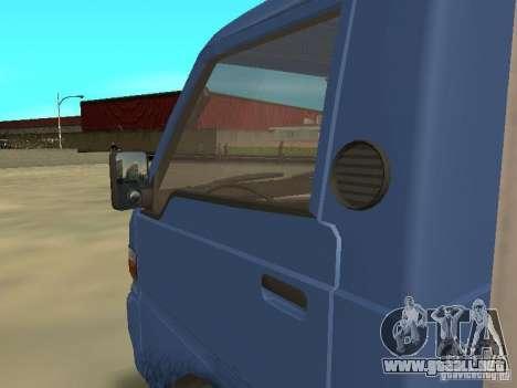 Hyundai Porter para visión interna GTA San Andreas
