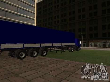 Trailer de los conductores de camión de serie para GTA San Andreas left