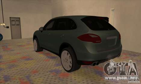 Porsche Cayenne Turbo 2012 para GTA San Andreas left