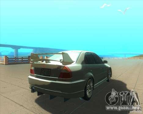 Mitsubishi Lancer Evolution VI 1999 Tunable para las ruedas de GTA San Andreas