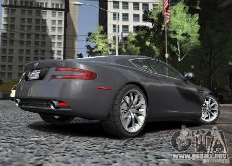 Aston Martin DB9 2008 v 1.0 para GTA 4 vista lateral