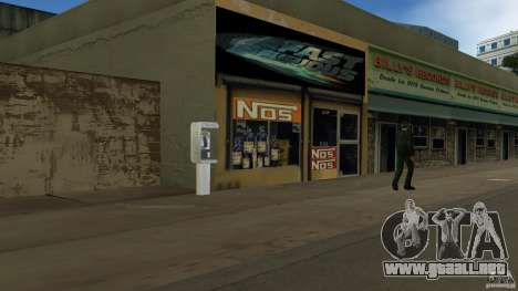 Der 2 Fast 2 Furious Shop para GTA Vice City