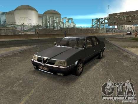 Alfa Romeo 164 para GTA Vice City visión correcta