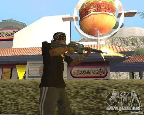 Municiones incendiarias para GTA San Andreas