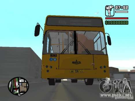 MAZ 103.465 para GTA San Andreas left