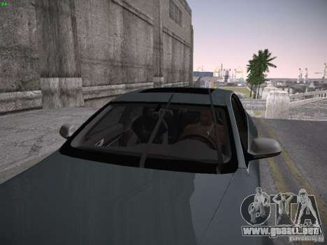 Audi RS6 2009 para GTA San Andreas vista hacia atrás
