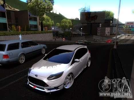 Ford Focus 2012 ST para GTA San Andreas