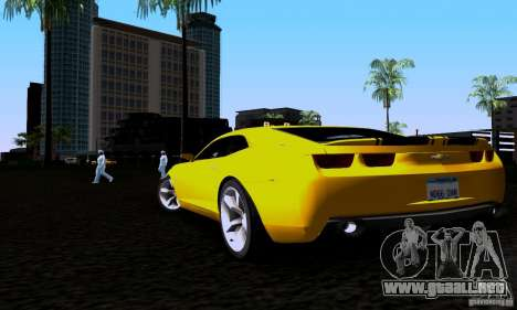 Chevrolet Camaro para GTA San Andreas left
