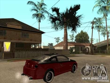 Chevrolet Cobalt ss Tuning para la visión correcta GTA San Andreas