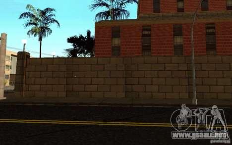 Nuevas texturas para el hospital en Los Santos para GTA San Andreas octavo de pantalla