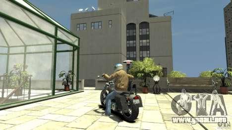 Zombie Bike Paintjob para GTA 4 Vista posterior izquierda