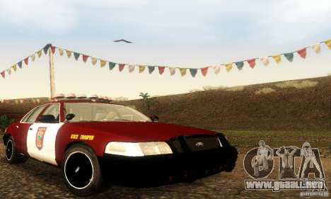 Ford Crown Victoria Minnesota Police para GTA San Andreas