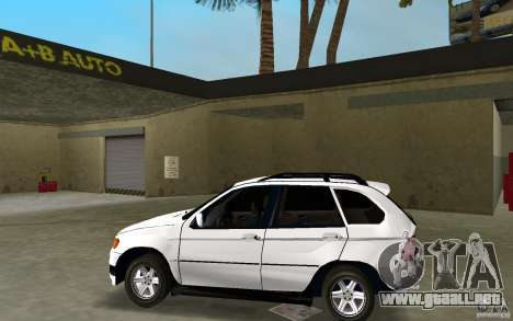 BMW X5 para GTA Vice City left
