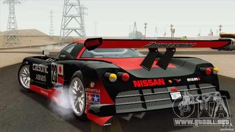 Nissan R390 GT1 1998 v1.0.1 para la visión correcta GTA San Andreas