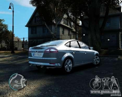 Ford Mondeo 2009 v1.0 para GTA 4 visión correcta